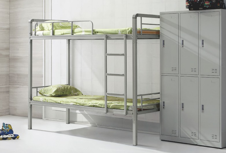 学生宿舍双层铁床