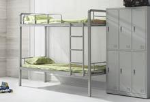 学生宿舍双层铁床的尺寸规格介绍,学生宿舍铁床批发厂家哪个好?