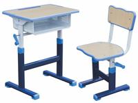 塑钢课桌椅和实木课桌椅有什么区别?